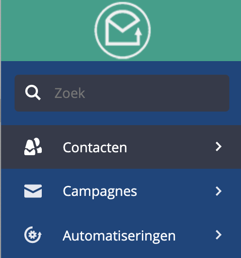 Site Tracking ActiveCampaign Contacten